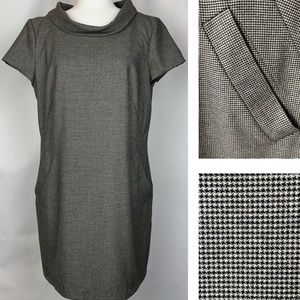 French Connection Houndstooth Shift Dress